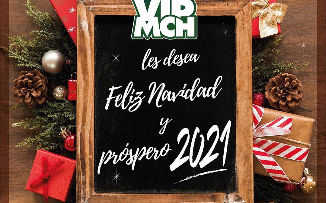 Mensaje Navideño, nos despedimos hasta el 11-01-2021