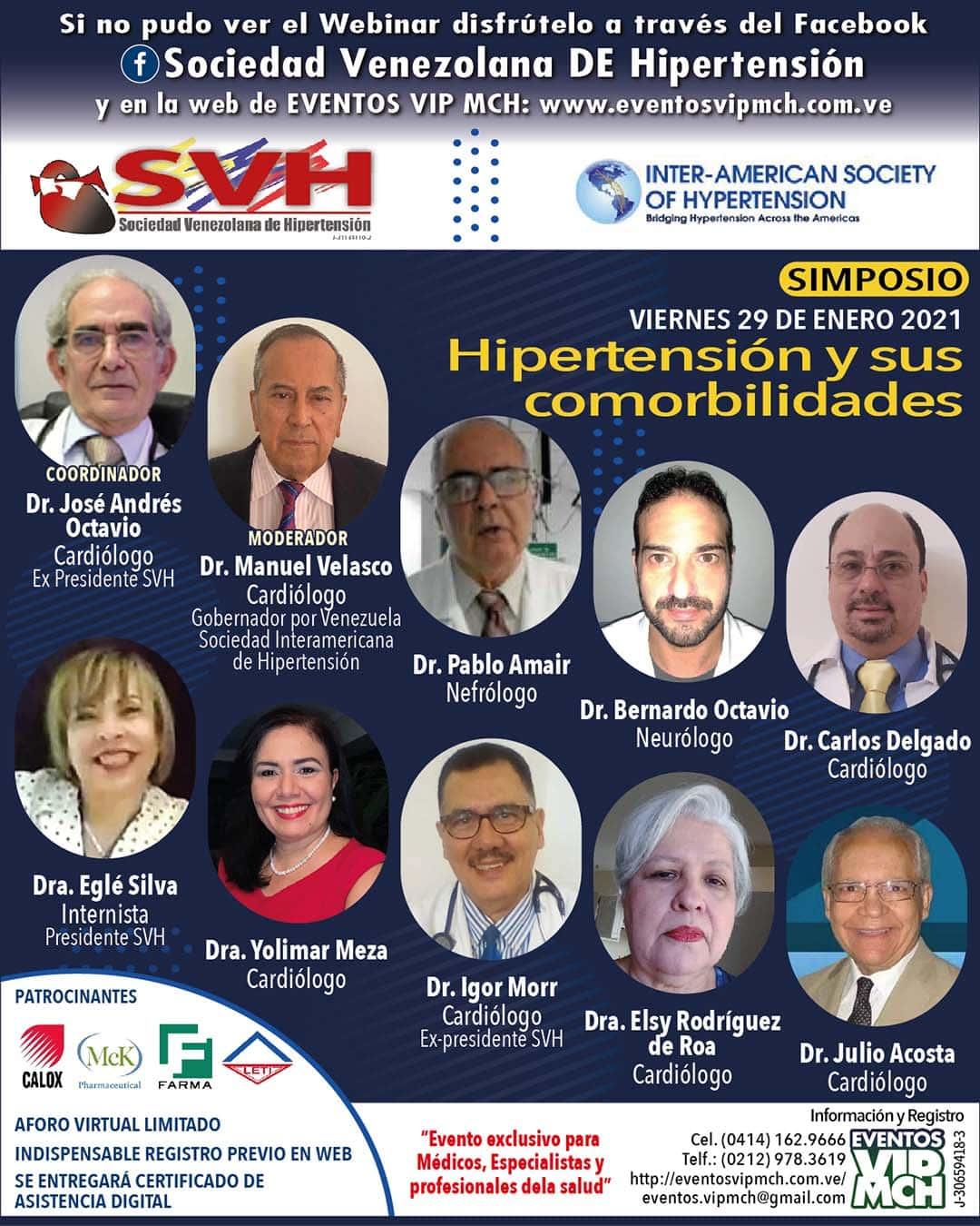 Video Simposio: La Hipertensión Arterial y sus Comorbilidades