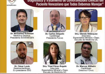 Video Webinar: Diagnóstico y Tratamiento de Comorbilidades Clínicas del Paciente Venezolano que Todos Debemos Manejar