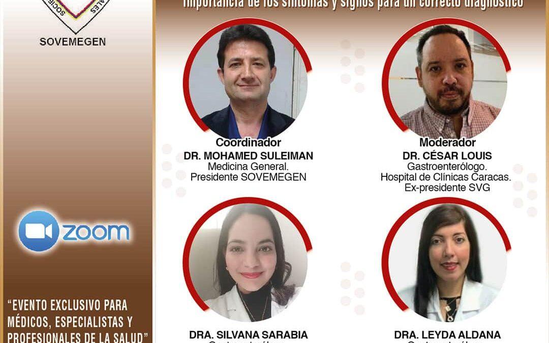 Video Webinar: Abordaje de las Patologías Digestivas más Frecuentes y la importancia de los síntomas y signos de diagnóstico.