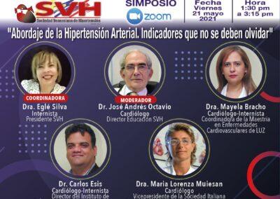 Video Simposio: Abordaje de la Hipertensión Arterial. Indicadores que no se deben olvidar